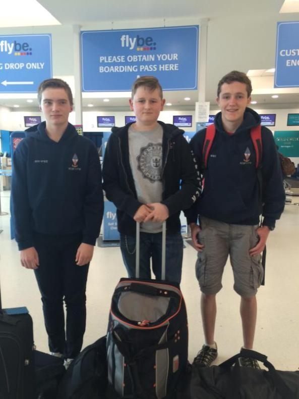 Three Northern Ireland participants traveled to Brecons for ProjectDX15