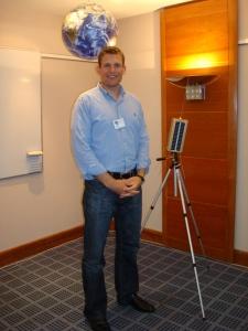 Danish Astronaut Dr Andreas Mogensen at an AMSAT-UK International Space Colloquium