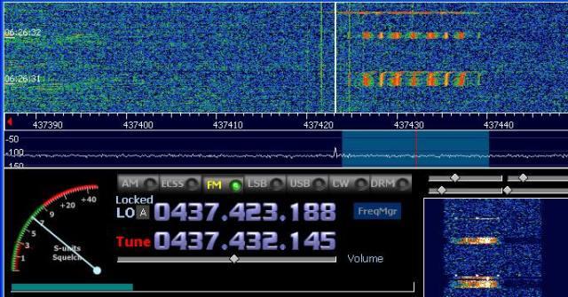 LAPAN-A2 beacon - Iwan Nawi YC3BVG