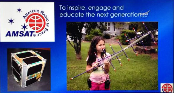 Amateur Radio Satellites - To inspire, engage and educate the next generation