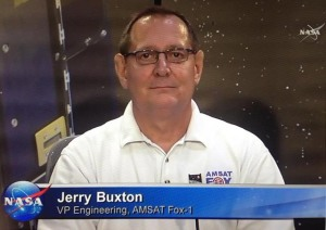 Jerry Buxton N0JY on NASA TV