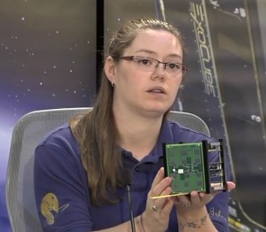 Morgan Johnson team lead for the ARC CubeSat