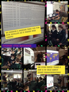 FUNcube-1 Educational Outreach - Thorne Green Top School in Yorkshire