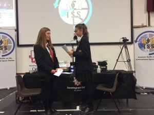 Sandringham School students preparing for Tim Peake contact - Image Credit Sandringham School
