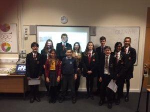Sandringham School Students - Image Credit Sandringham School @SandringhamSch1