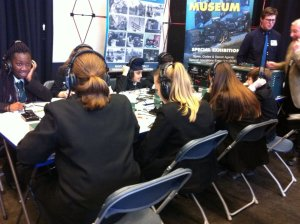 Oasis Academy Brightstowe students learn about radio communications