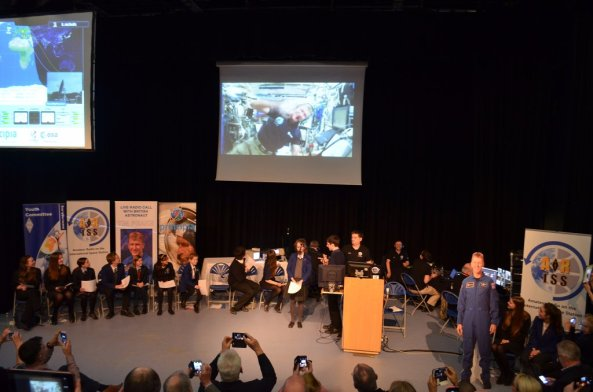 Students used amateur radio to speak to Tim Peake - Credit City of Norwich School