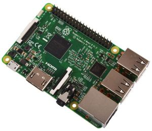 Raspberry Pi 3 - Credit RS-Online