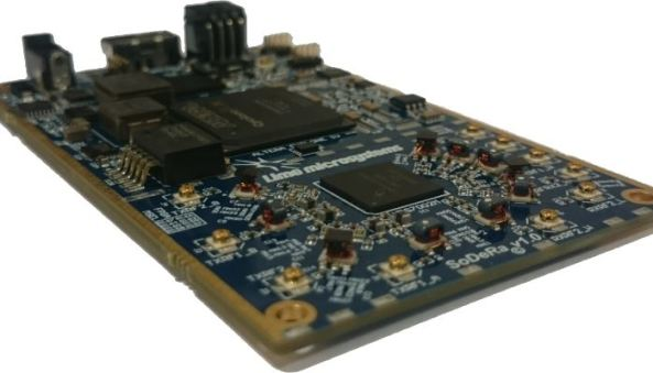 LimeSDR 100 kHz to 3800 MHz SDR Transceiver - Credit Lime Microsystems