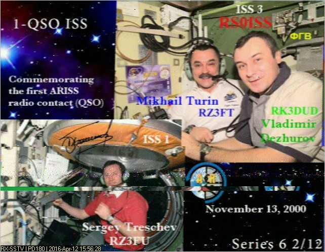 Receive SSTV from Space in June and July | AMSAT-UK