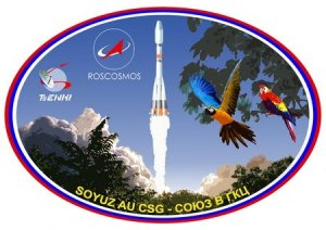 Soyuz VS14 mission patch