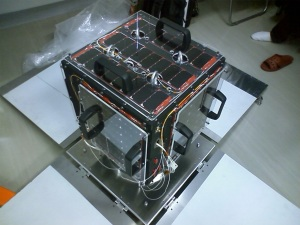 UNITEC-1 Venus spacecraft with amateur radio 5840 MHz payload