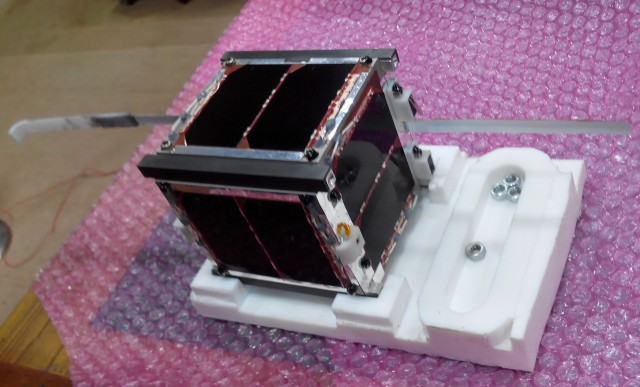 Swayam-1 CubeSat Flight Model - Credit COEP