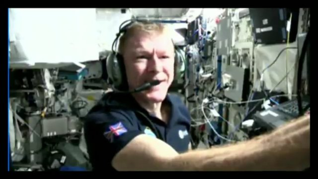 The King's School amateur radio contact with Tim Peake featured HamTV