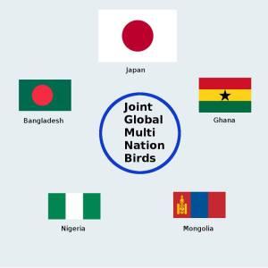 BIRDS CubeSat Nations