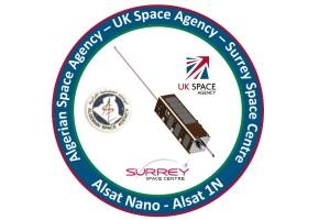 AlSat-1N Mission Patch