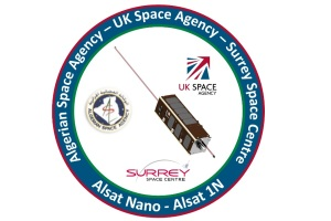 AlSat-1N Mission Patch