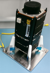 EO79 (QB50p1) CubeSat - Credit ISIS