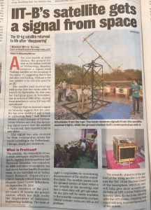 Pratham satellite in Mumbai Mirror
