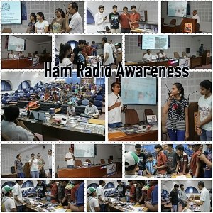 Ham Radio Awareness Program at Science City Ahmedabad May 20, 2017