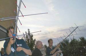 Working satellites with Arrow Antennas