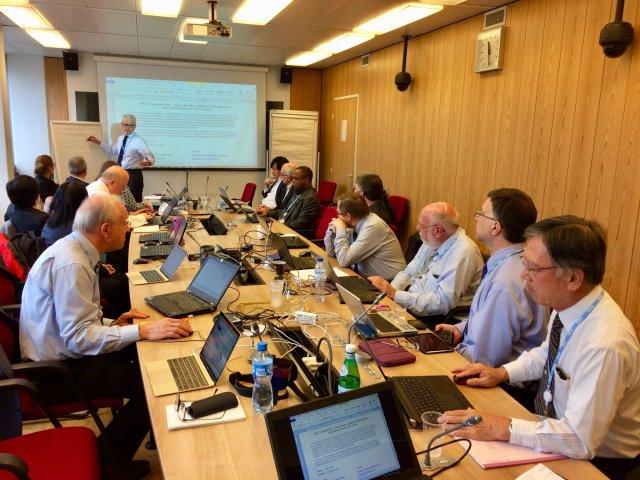 ITU WP-5A - Amateur Satellite Management Discussion Nov 8, 2017 - Credit Bryan Rawlings VE3QN