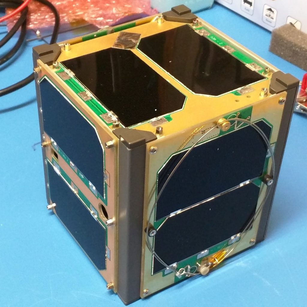 Polar mount amsat amateur satellite