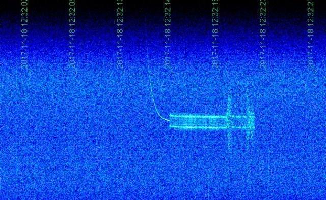RadFxSat (Fox-1B) signal received by Mike Rupprecht DK3WN