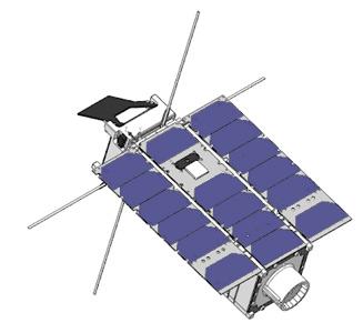 been activated on board of a 1U CubeSat in space  A voltage