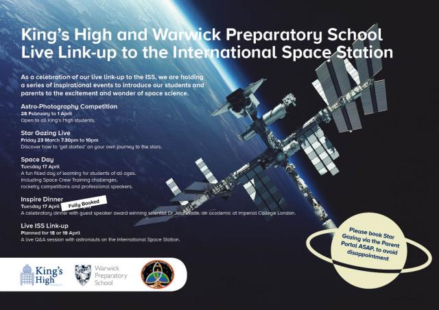 Kings High School Warwick ARISS Contact