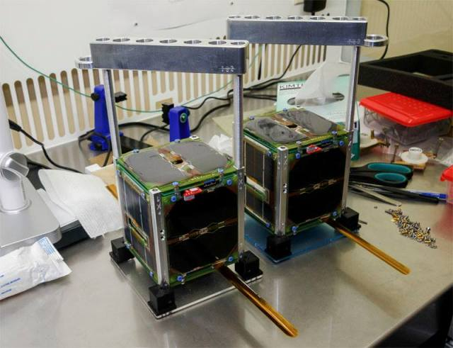 SiriusSat-1 RS13S and SiriusSat-2 RS14S CubeSats