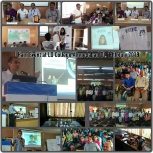LD College Ahmedabad - VU2EXP 2018-07-13