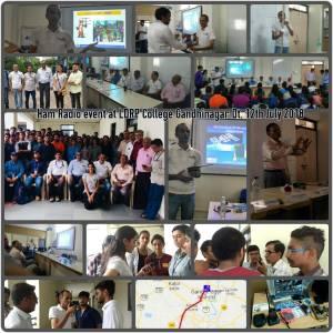LDRP College Gandhinagar - VU2EXP 2018-07-12