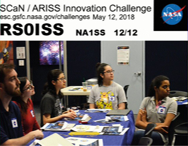 ARISS Joins NASA On-The-Air for a Special SSTV Event | AMSAT-UK