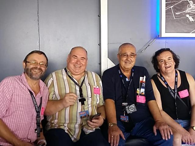 AMSAT-DL/BATC team at the Kennedy Space Center Nov. 14, 2018