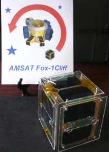 Fox-1Cliff CubeSat