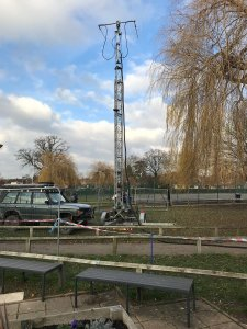 GB4KSN antenna mast