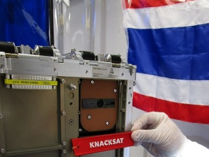 Knacksat in CubeSat Deployer