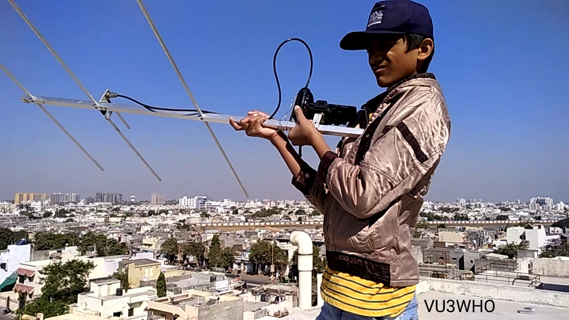 Student from Saint Paul's School Rajkot receives ISS SSTV | AMSAT-UK