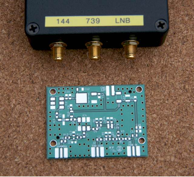 Figure 5 Converter with PCB produced by Luciano Gasparini PT9KK