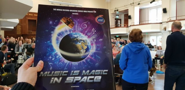 Music is Magic in Space