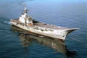 Royal Thai Navy aircraft carrier HTMS Chakri Narubet