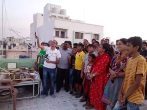SSTV Demonstration at Rajkot April 12, 2019
