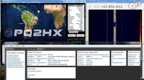 Frame received by PQ2HX in Brazil at around 14:17 UTC on April 12, 2019