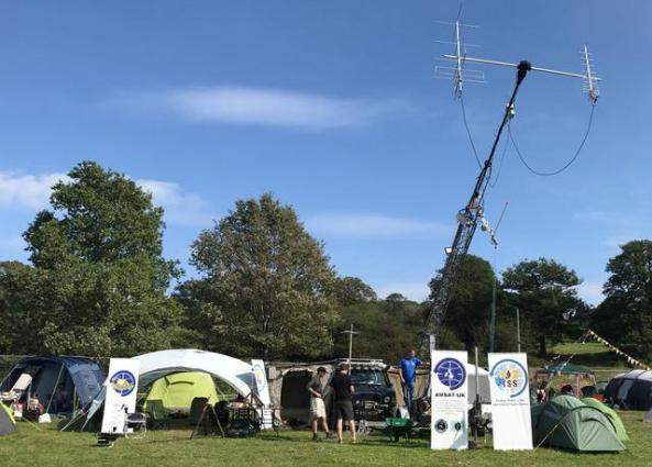 EMF 2018 AMSAT-UK Village