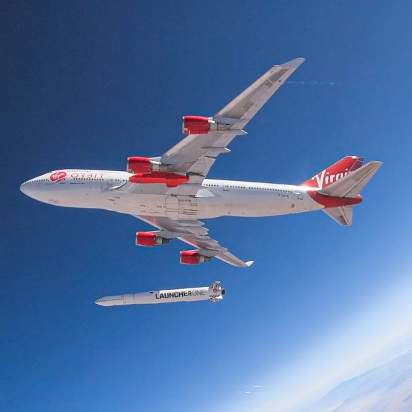 LauncherOne Drop Test July 2019 – Credit Virgin Orbit
