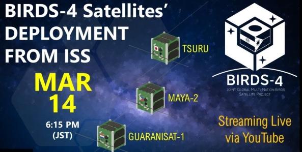 BIRDS-4 Satellite Deployment