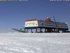 AWI Neumayer Station III Antarctica - image from AMSAT-DL