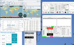 Setup for FT4 on the RS-44 satellite